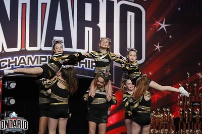 Cheetahs Cheerleading Cerise Small Youth A1 - R1