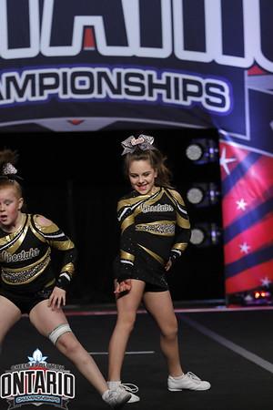 Cheetahs Cheerleading Cerise Small Youth A1 - R2