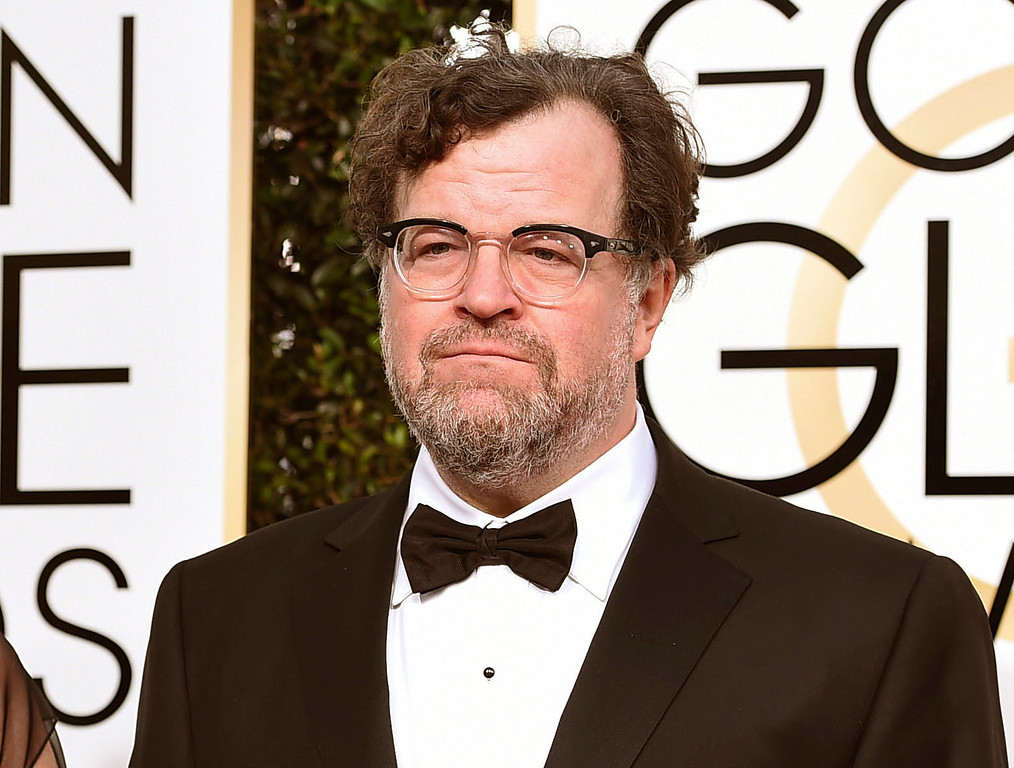 """. FILE - This Jan. 8, 2017 file photo shows Kenneth Lonergan, director of \""""Manchester By the Sea,\"""" at the 74th annual Golden Globe Awards in Beverly Hills, Calif. Lonergan was nominated for an Oscar for best original screenplay on Tuesday, Jan. 24, 2017, for the film. The 89th Academy Awards will take place on Feb. 26. (Photo by Jordan Strauss/Invision/AP, File)"""