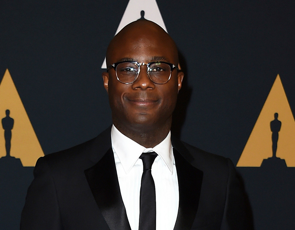 """. FILE - This Nov. 12, 2016 file photo shows Barry Jenkins, director of the film, \""""Moonlight,\"""" at the 2016 Governors Awards in Los Angeles. Jenkins was nominated for an Oscar for best directing  on Tuesday, Jan. 24, 2017, for his work on the film. The 89th Academy Awards will take place on Feb. 26. (Photo by Jordan Strauss/Invision/AP, File)"""