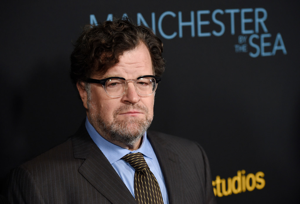 """. FILE - This Nov. 14, 2016 file photo shows writer-director Kenneth Lonergan at the premiere of the film, \""""Manchester by the Sea,\"""" in Beverly Hills, Calif. Lonergan was nominated for an Oscar for best directing on Tuesday, Jan. 24, 2017, for his work on the film. The 89th Academy Awards will take place on Feb. 26. (Photo by Chris Pizzello/Invision/AP, File)"""