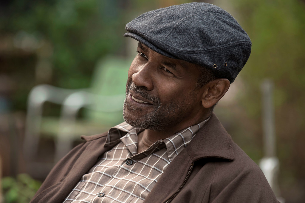 """. This image released by Paramount Pictures shows Denzel Washington in a scene from \""""Fences.\""""  Washington was nominated for an Oscar for best actor in a leading role on Tuesday, Jan. 24, 2017, for his work in the film. The 89th Academy Awards will take place on Feb. 26. (David Lee/Paramount Pictures via AP)"""