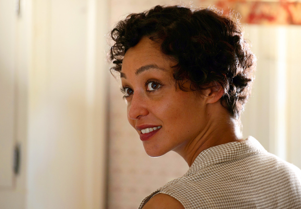 """. This image released by Focus Features shows Ruth Negga in a scene from \""""Loving.\"""" Negga was nominated for an Oscar for best actress in a leading role on Tuesday, Jan. 24, 2017, for her work in the film. The 89th Academy Awards will take place on Feb. 26.(Ben Rothstein/Focus Features via AP)"""