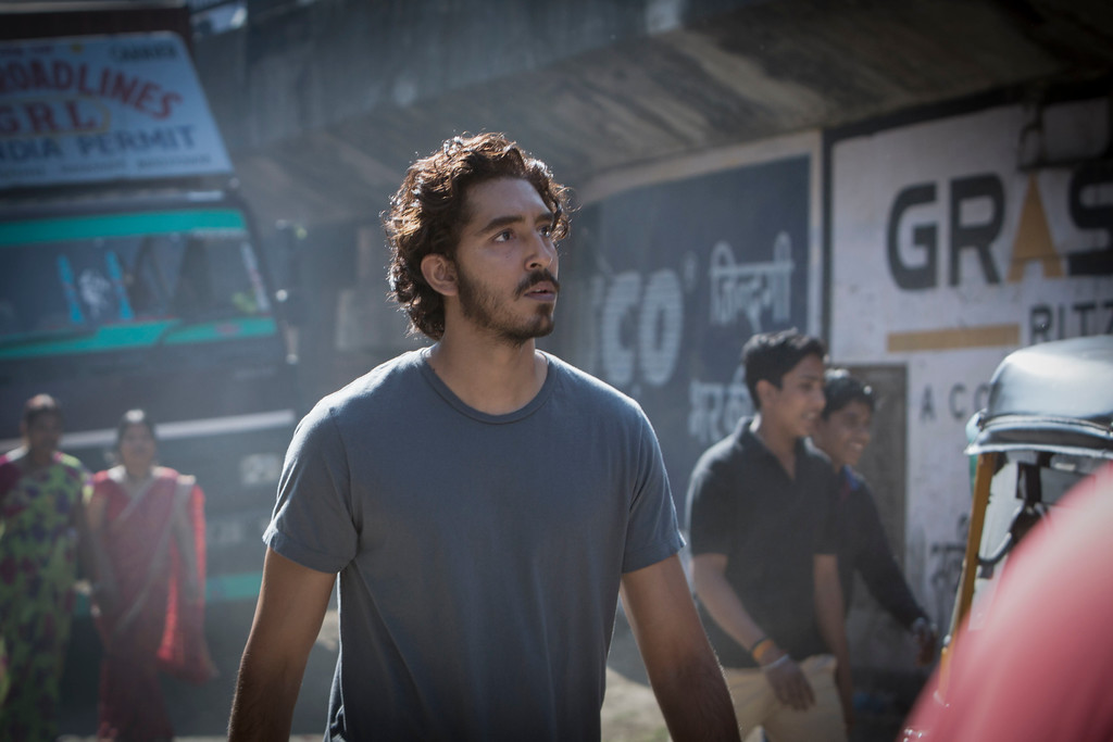 """. In this image released by The Weinstein Company, Dev Patel appears in a scene from \""""Lion.\"""" Patel was nominated for an Oscar for best  supporting actor on Tuesday, Jan. 24, 2017, for his work in the film. The 89th Academy Awards will take place on Feb. 26.  (Mark Rogers/The Weinstein Company via AP)"""