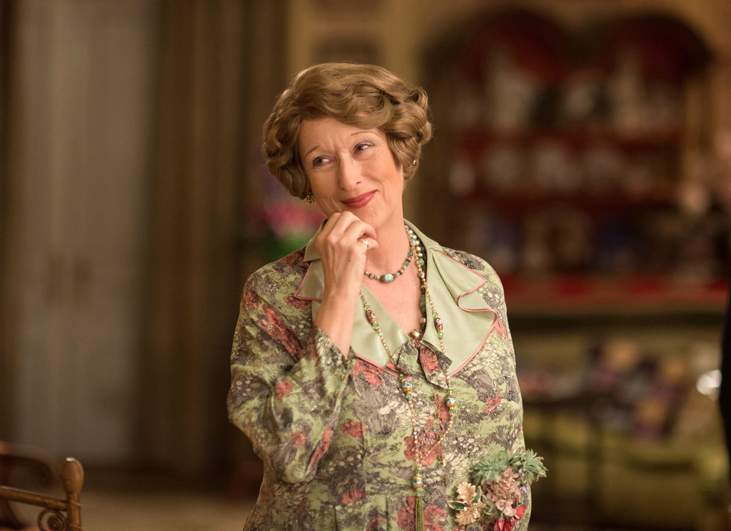 """. This image released by Paramount Pictures shows Meryl Streep in a scene from \""""Florence Foster Jenkins.\""""  Streep was nominated for an Oscar for best actress in a leading role on Tuesday, Jan. 24, 2017, for her work in the film. The 89th Academy Awards will take place on Feb. 26. (Nick Wall/Paramount Pictures via AP)"""
