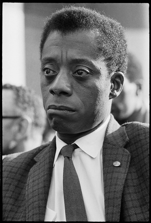 """. This image released by Magnolia Pictures shows James Baldwin in \""""I Am Not Your Negro.\"""" The film was nominated for an Oscar for best documentary feature on Tuesday, Jan. 24, 2017.  The 89th Academy Awards will take place on Feb. 26.  (Bob Adelman/Magnolia Pictures via AP)"""