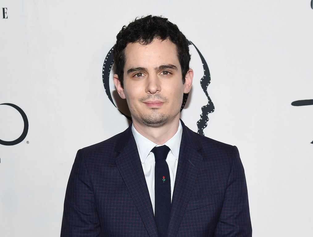 """. FILE - This Jan. 3, 2017 file photo shows writer/director Damien Chazelle at the New York Film Critics Circle Awards in New York. Chazelle was nominated for an Oscar for best original screenplay on Tuesday, Jan. 24, 2017, for the film, \""""La La Land.\"""" The 89th Academy Awards will take place on Feb. 26. (Photo by Evan Agostini/Invision/AP, File)"""