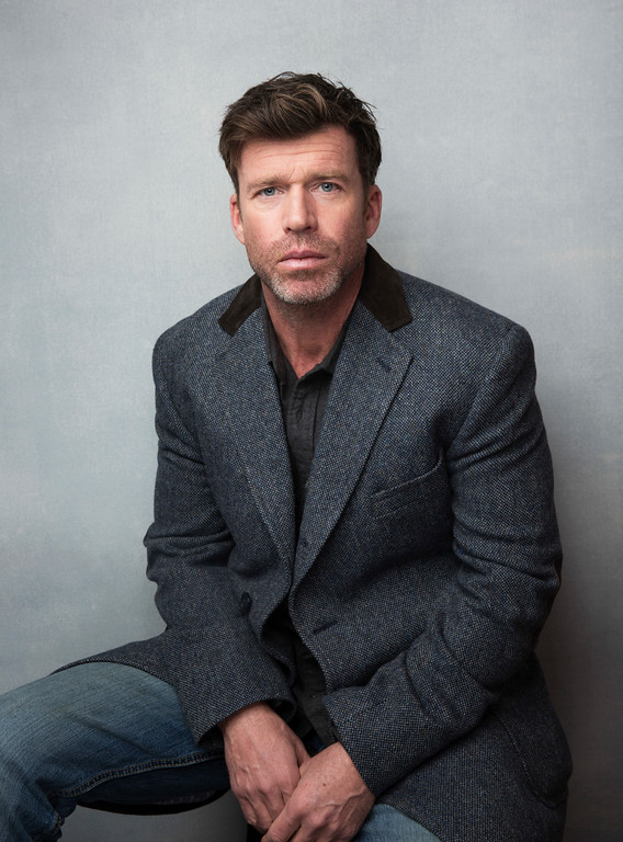 """. FILE - This Jan. 21, 2017 file photo shows Taylor Sheridan during the Sundance Film Festival in Park City, Utah. Sheridan was nominated for an Oscar for best original screenplay on Tuesday, Jan. 24, 2017, for the film, \""""Hell or High Water.\"""" The 89th Academy Awards will take place on Feb. 26. (Photo by Taylor Jewell/Invision/AP, File)"""