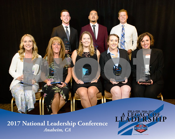 Hospitality Management 1st-4th Place