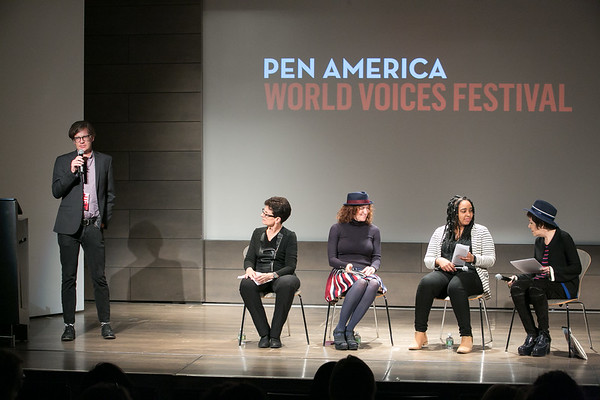 2017 PEN America World Voices Festival: Art, Gender and Social Justice