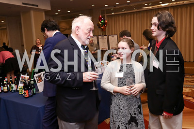 David Sheridan, Meg Sheridan, Nolan Sheridan. Photo by Tony Powell. 2017 Everybody Wins Gala. Capitol Hilton. March 21, 2017