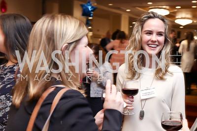 Courtney Futryk, Libby Mastrogiacomo. Photo by Tony Powell. 2017 Everybody Wins Gala. Capitol Hilton. March 21, 2017