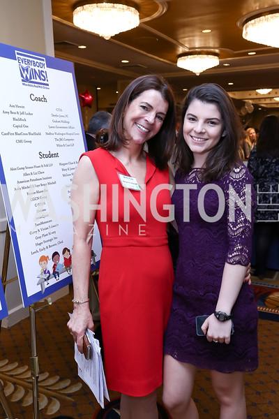 Everybody Wins Executive Director Molly Teas, Sophie Boorstin. Photo by Tony Powell. 2017 Everybody Wins Gala. Capitol Hilton. March 21, 2017