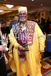 Storyteller Baba-C. Photo by Tony Powell. 2017 Everybody Wins Gala. Capitol Hilton. March 21, 2017