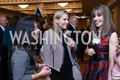 Meg Inomata, Meaghan Gilmore, Amy Bess. Photo by Tony Powell. 2017 Everybody Wins Gala. Capitol Hilton. March 21, 2017