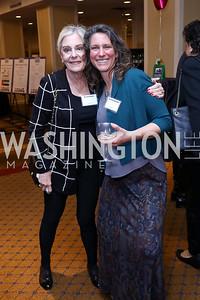 Gloria Koonin, Hannah Salander. Photo by Tony Powell. 2017 Everybody Wins Gala. Capitol Hilton. March 21, 2017