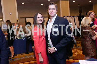 Katie Lawler, Jerry Drumheller. Photo by Tony Powell. 2017 Everybody Wins Gala. Capitol Hilton. March 21, 2017