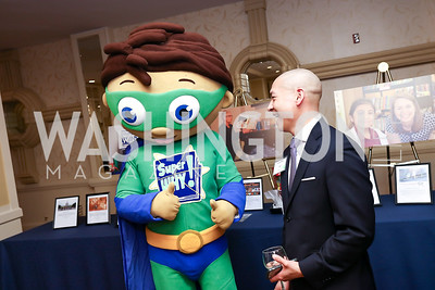Super Why, Allen Chew. Photo by Tony Powell. 2017 Everybody Wins Gala. Capitol Hilton. March 21, 2017