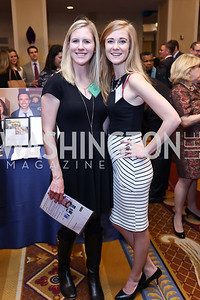 Emily Janson, Alyson Searles. Photo by Tony Powell. 2017 Everybody Wins Gala. Capitol Hilton. March 21, 2017