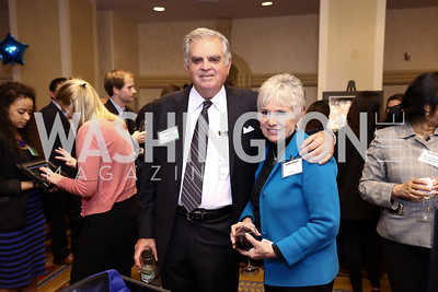 Sec. Ray LaHood and Kathy LaHood. Photo by Tony Powell. 2017 Everybody Wins Gala. Capitol Hilton. March 21, 2017