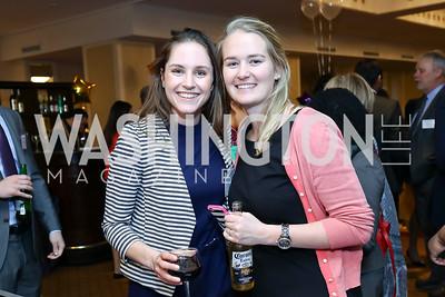 Jessica Wojciechowski, Heather Page. Photo by Tony Powell. 2017 Everybody Wins Gala. Capitol Hilton. March 21, 2017