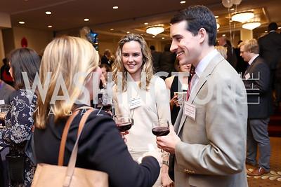Courtney Futryk, Libby and Tim Mastrogiacomo. Photo by Tony Powell. 2017 Everybody Wins Gala. Capitol Hilton. March 21, 2017
