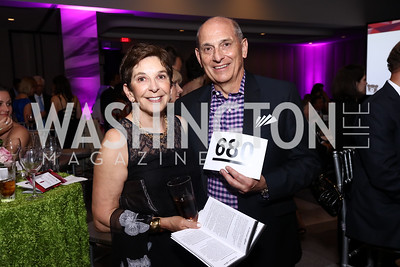 Helene Patterson and Leo Mullen. Photo by Tony Powell. 2017 A Vintage Affair. Watergate Hotel. April 29, 2017