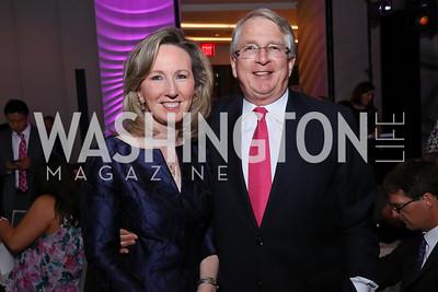 Rep. Barbara Comstock, Ken Kies. Photo by Tony Powell. 2017 A Vintage Affair. Watergate Hotel. April 29, 2017