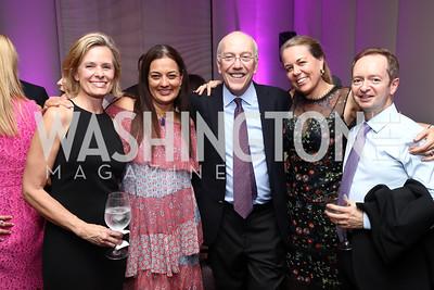 Alison Newman, Anjali Gupta, Kurt Newman, Cath Bollard and Paul Kentell. Photo by Tony Powell. 2017 A Vintage Affair. Watergate Hotel. April 29, 2017