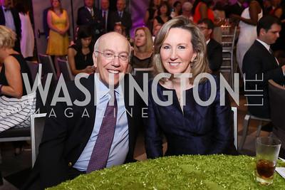 Kurt Newman, Rep. Barbara Comstock. Photo by Tony Powell. 2017 A Vintage Affair. Watergate Hotel. April 29, 2017