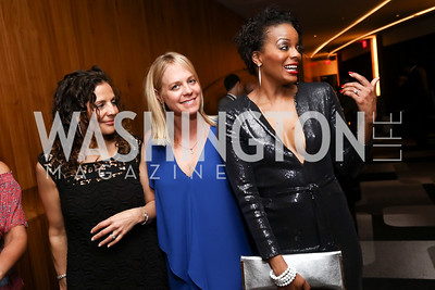 Eunice Mazloom, Kim Trundle, Erica Annise. Photo by Tony Powell. 2017 A Vintage Affair. Watergate Hotel. April 29, 2017