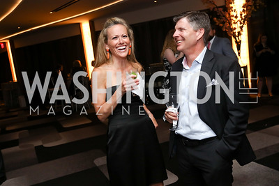 Anne and Steve Wydler. Photo by Tony Powell. 2017 A Vintage Affair. Watergate Hotel. April 29, 2017