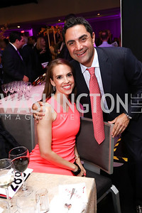 Julia Ehrgood Ghafouri and Bob Ghafouri. Photo by Tony Powell. 2017 A Vintage Affair. Watergate Hotel. April 29, 2017