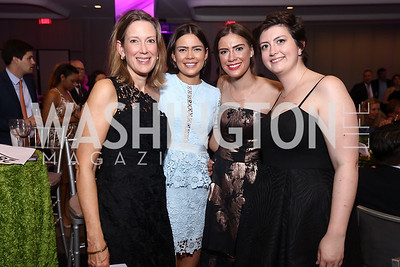 Frances Fitzgerald, Mallory Fitzgerald, Bridget Fitzgerald, Emily Fitzgerald. Photo by Tony Powell. 2017 A Vintage Affair. Watergate Hotel. April 29, 2017