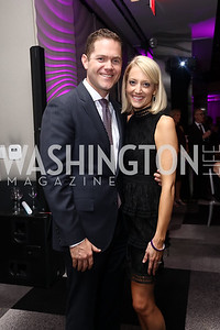 Tim and Jessi Frend. Photo by Tony Powell. 2017 A Vintage Affair. Watergate Hotel. April 29, 2017