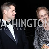 Charlie Carver, Honoree Ann Jaffe. Photo by Tony Powell. 2017 ADL Concert Against Hate. Kennedy Center. October 30, 2017