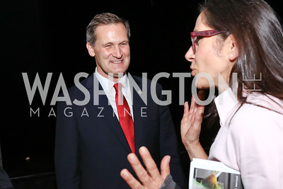 Charlottesville Mayor Mike Signer. Photo by Tony Powell. 2017 ADL Concert Against Hate. Kennedy Center. October 30, 2017