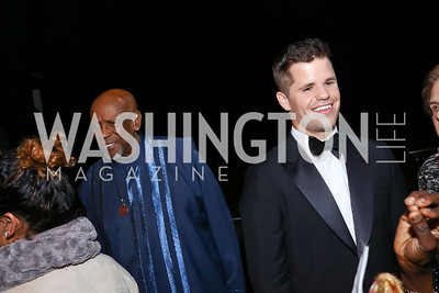Louis Gossett Jr., Charlie Carver. Photo by Tony Powell. 2017 ADL Concert Against Hate. Kennedy Center. October 30, 2017