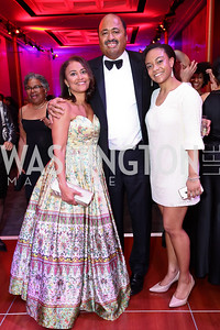 Kim and Fred Humphries, Journey Rucker. Photo by Tony Powell. 2017 Alvin Ailey DC Gala. Kennedy Center. February 7, 2017