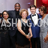 Robyn Wells, Andre Wells, Debra Lee, Lyndon Boozer, Sela Collins. Photo by Tony Powell. 2017 Alvin Ailey DC Gala. Kennedy Center. February 7, 2017