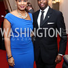 Simone Frederick and Howard University President Wayne Frederick. Photo by Tony Powell. 2017 Alvin Ailey DC Gala. Kennedy Center. February 7, 2017