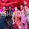 Ailey dancers Jacquelin Harris, Chalvar Monteiro, Danica Paulos, Samantha Figggins, and Ashley Mayeux. Photo by Tony Powell. 2017 Alvin Ailey DC Gala. Kennedy Center. February 7, 2017