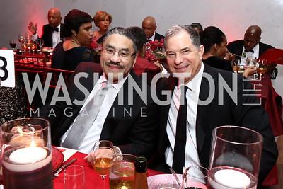Bob Hisaoka, Jim Abdo. Photo by Tony Powell. 2017 Alvin Ailey DC Gala. Kennedy Center. February 7, 2017
