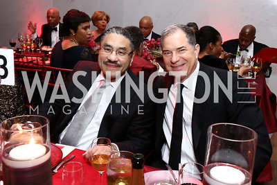 Bob Hisaoka, Jim Abdo. Photo by Tony Powell. 2017 Alvin Ailey DC Gala. Kennedy Center. February 7, 2017