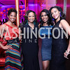 Patrice Webb, Kim Bassett, Omarosa Manigault-Stallworth, Marie Sylla. Photo by Tony Powell. 2017 Alvin Ailey DC Gala. Kennedy Center. February 7, 2017