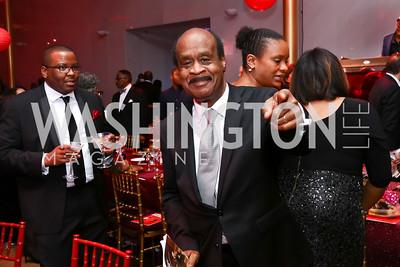 Executive of Montgomery County Ike Leggett. Photo by Tony Powell. 2017 Alvin Ailey DC Gala. Kennedy Center. February 7, 2017