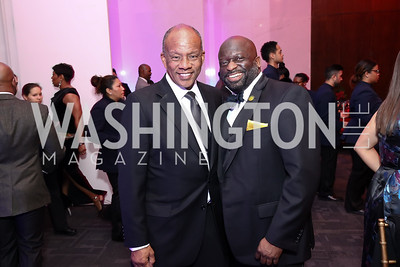 Howard Wooley, Jeff Ballou. Photo by Tony Powell. 2017 Alvin Ailey DC Gala. Kennedy Center. February 7, 2017