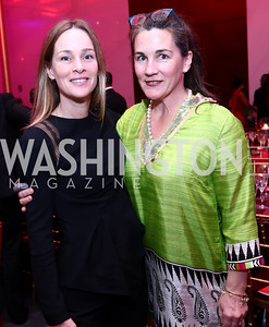 Kathleen Biden, Christine Kraft. Photo by Tony Powell. 2017 Alvin Ailey DC Gala. Kennedy Center. February 7, 2017