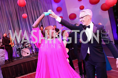 Hope Boykin, Bennett Rink. Photo by Tony Powell. 2017 Alvin Ailey DC Gala. Kennedy Center. February 7, 2017