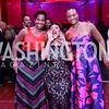 Patrice Webb, Tiffany Cross, Yvonne Williams. Photo by Tony Powell. 2017 Alvin Ailey DC Gala. Kennedy Center. February 7, 2017